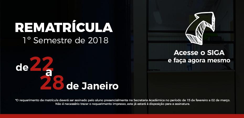 Rematricula Fatec 2018