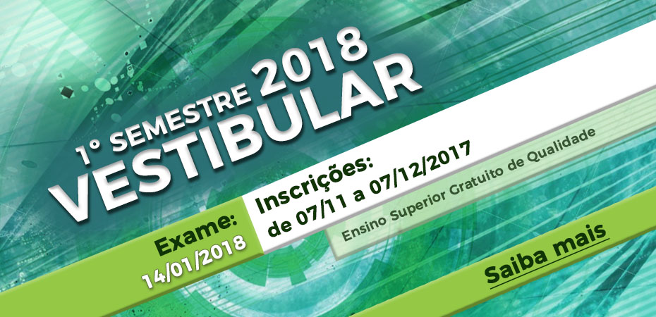 Inscrições abertas para o Vestibular 2018 da Fatec Rubens Lara