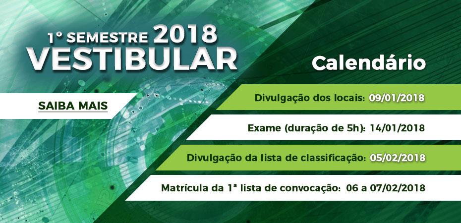 Vestibular Fatec 2018