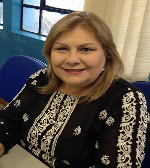 Foto do Coordenador Rosana Cammarosano