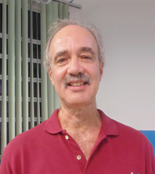 foto do professor Rui Silvestrin